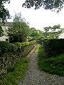 Footpath - Spring Avenue, Thwaites Brow - geograph.org.uk - 977184.jpg