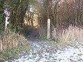 Footpath junction near Luddesdown - geograph.org.uk - 1118218.jpg