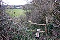 Footpath stile - geograph.org.uk - 358115.jpg