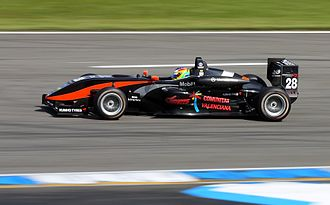Roberto Merhi - Merhi competing at the opening round of the 2009 Formula 3 Euro Series at Hockenheim.