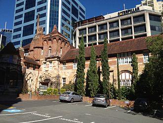 Brisbane tuff - Image: Former St Martin's Hospital, Brisbane 052013