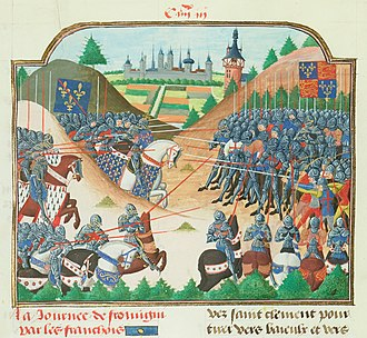 Battle of Formigny - The battle of Formigny.