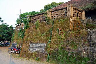 Fort Emmanuel - Image: Fort kochi relics 2