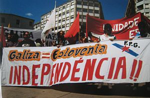 Galician People's Front - Image: Fpg 25071991