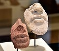 Fragments of a royal portrait, study of nose and lips. From Egypt, Amarna, Neues Museum, Berlin.jpg