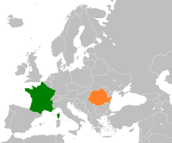 France Romania Locator.png
