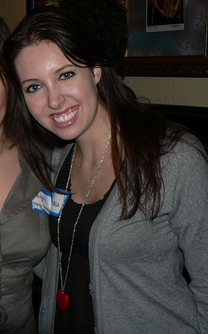 Francesca Battistelli - Battestelli posing for a photograph in 2008