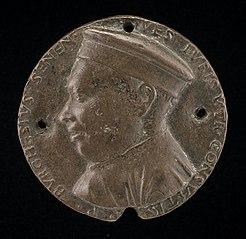 Borghese Borghesi, 1414-1490, Jurisconsult of Siena [obverse]