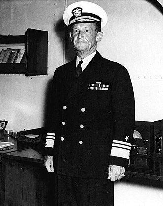 Battle of the Coral Sea - Frank Jack Fletcher, commander of U.S. Task Force 17