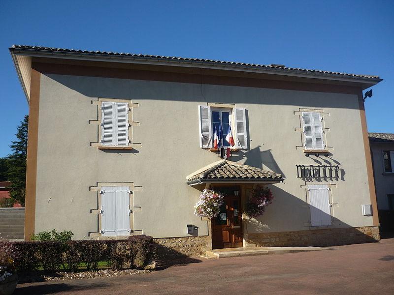 Mairie de la commune de Frans dans le département de l'Ain
