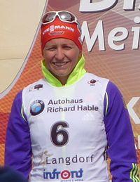 Franziska Hildebrand Langdorf 2015 Siegerehrung