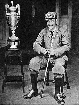 Frederick Guthrie Tait - Tait in 1896 after winning The Amateur Championship