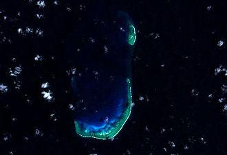 Frederick Reefs - Satellite View of Frederick Reefs