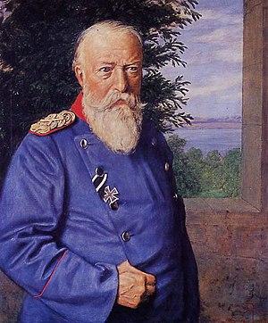William Hechler - Grand Duke Friedrich I of Baden,  by Hans Thoma
