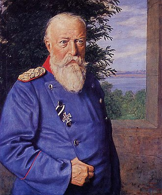 Generaloberst - Frederick I, Grand Duke of Baden as Prussian Generaloberst (with the special rank GFM)