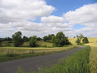 Frisby, Leicestershire - Approaching Frisby from Gaulby