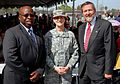 From left to right, Al Murray, mayor of Tustin, Maj. Gen. Megan P. Tatu, 79th Sustainment Support Command commanding general, and Rep. John Bayard Taylor Campbell III, with the 45th Congressional District, pose 140222-A-VA095-097.jpg