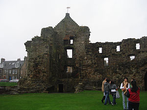Front Gate of the St Andrews Castle