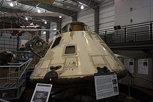 Ram pressure - Apollo 7 Command Model