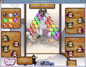 Frozen Bubble - Integrated level editor of Frozen Bubble 2.x.