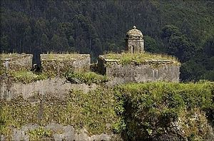 Valdivian Fort System - The main fort in Corral
