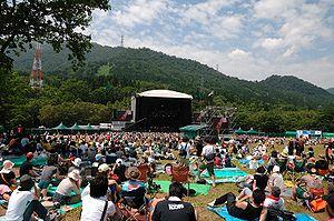 Fuji Rock Festival -  The Green Stage