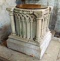 Fulbeck St Nicholas - Baptismal font.jpg