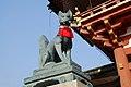 FushimiInari Taisha Fox-Statue.jpg
