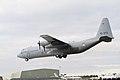 G-273 C-130H-30 334 Squadron Koninklijke Luchtmacht landing at Waddington (3399028626).jpg