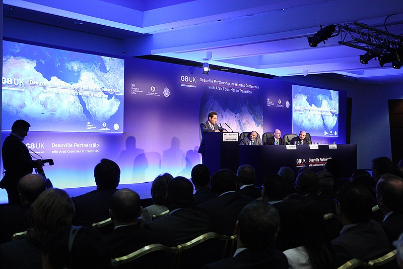 File:G8 Deauville Partnership Investment Conference (9770962332).jpg
