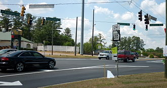 Wrightsboro Road - Image: GA388End Grovetown