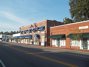 Kingsland Commercial Historic District - Image: GA Kingsland Comm HD01