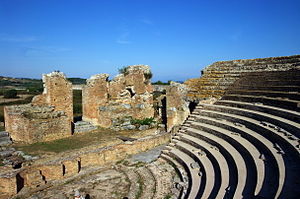Nicopolis - The ancient Odeon.