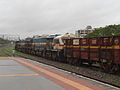 GTY based WDG-4 locos with Freight Tanker at Malkajgiri 03.jpg