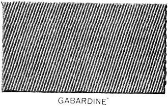 Gabardine - Gabardine