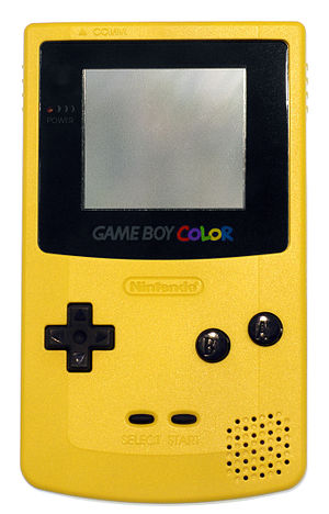 Nintendo video game consoles - Game Boy Color - Dandelion