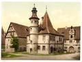 Gamekeepers house (i.e.Hegereiterhaus), Rothenburg (i.e. ob der Tauber), Bavaria, Germany-LCCN2002696186.tif