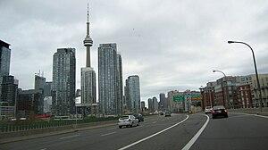 Gardiner Expressway Downtown Toronto