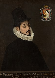 Gaspar de Zúñiga, 5th Count of Monterrey Spanish viceroy