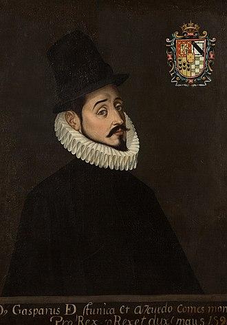 Gaspar de Zúñiga, 5th Count of Monterrey - Image: Gasparde Zugnigay Acevedo