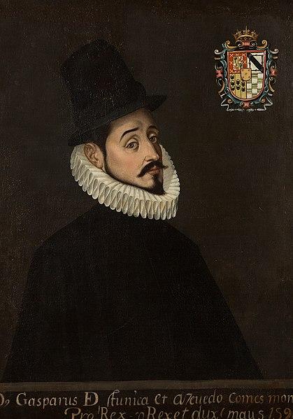 Retrato de Gaspar de Zúñiga y Acevedo.