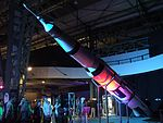 Gateway to space 2016, Budapest, Saturn-V Moon rocket model.jpg