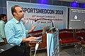 Gaurav Gupta Delivering Lecture - Shoulder Injuries in Sports - SPORTSMEDCON 2019 - SSKM Hospital - Kolkata 2019-03-17 3602.JPG