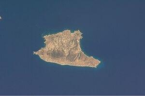 Gavdos - Gavdos island satellite image.