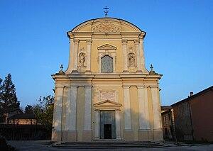 Gazoldo degli Ippoliti - Image: Gazoldo degli Ippoliti chiesa parrocchiale
