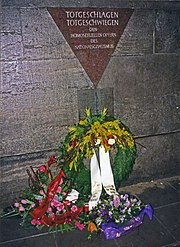 Berlin memorial homosexual marriage