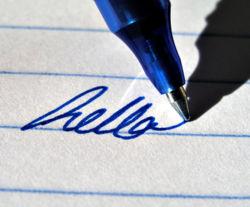 stylo bille roller