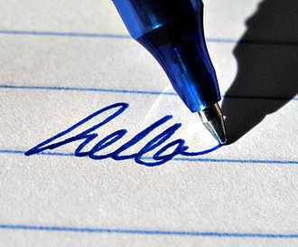 Rollerball pen - A gel-based rollerball pen