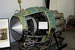 General Electric I-16 (J-31) jet engine - Oregon Air and Space Museum - Eugene, Oregon - DSC09701.jpg