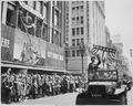 General George S. Patton acknowledging the cheers of the welcoming crowds in Los Angeles, California, during his... - NARA - 535941.tif